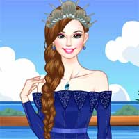 Free online flash games - Ocean Princess LoliGames game - Games2Dress