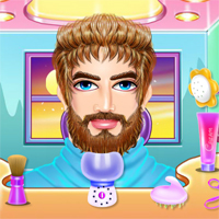 Free online flash games - Daddy Fashion Beard Salon GamesForGirlz game - Games2Dress