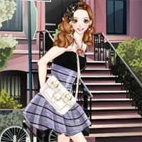 Free online flash games - Street Scene Anime game - Games2Dress