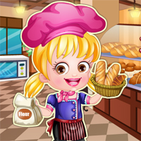 Free online flash games - Baby Hazel As Baker TopBabyGames game - Games2Dress