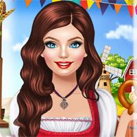Free online flash games - Bonnie Oktoberfest game - Games2Dress