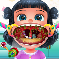 Free online flash games - Funny Throat Doctor game - Games2Dress
