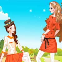 Free online flash games - Fancy Orange Color game - Games2Dress