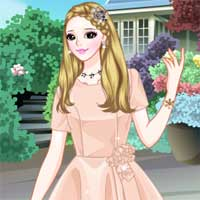 Free online flash games - Prom in the Garden game - Games2Dress