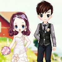 Free online flash games - Fabulous Wedding game - Games2Dress