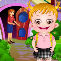 Free online flash games - Baby Hazel in Preschool Babyhazelgames game - Games2Dress