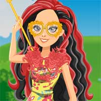 Free online flash games - Archery Club Rosabella Beauty game - Games2Dress