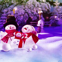 Free online flash games - HOG Winter Snowman Hidden Numbers game - Games2Dress