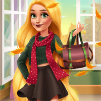 Free online flash games - Blonde Princess Fall Trends GirlsPlay game - Games2Dress