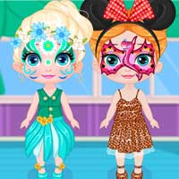 Frozen Baby Face Painting ColorDesignGames