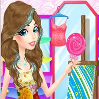 Free online flash games - Color Blast beauty prep game - Games2Dress