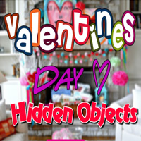 Free online flash games - Valentines Day Hidden Objects game - Games2Dress