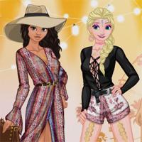 Free online flash games - Princess Festival Fashion Icon Dressupmix game - Games2Dress