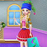 Free online flash games - Princess Perfect Christmas game - Games2Dress