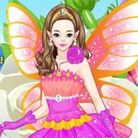 Free online flash games - Flower Fairy game - Games2Dress