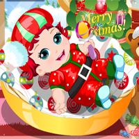 Free online flash games - Santa Baby game - Games2Dress