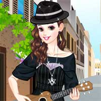 Free online flash games - Street Singer LoliGames game - Games2Dress