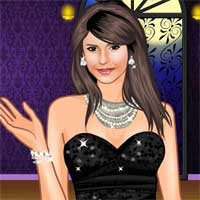 Free online flash games - Nina Dobrev game - Games2Dress