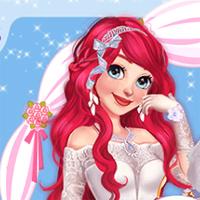 Free online flash games - Princess Wedding Transformation game - Games2Dress