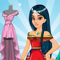 Free online flash games - Princess Prom Dress Design GirlGamey game - Games2Dress