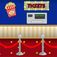 Free online flash games - MouseCity Empty Theater Escape game - Games2Dress