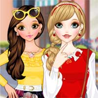Free online flash games - Cherry and Mango game - Games2Dress
