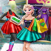 Free online flash games - Ice Queen Realife Shopping game - Games2Dress