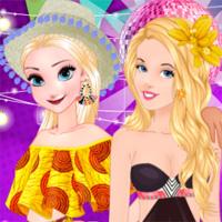 Free online flash games - Princesses Yacht Party EgirlGames game - Games2Dress