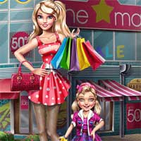 Free online flash games - Modern Mom Shopping Playrosy game - Games2Dress