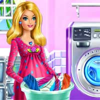 Free online flash games - Clothes Washing Day game - Games2Dress