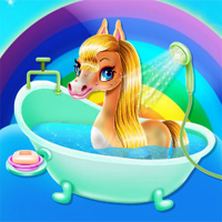 Rainbow Pony Beauty Salon Wowsomegames