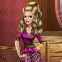 Free online flash games - Sery Magazine Dolly Dress Up Glossyplay game - Games2Dress