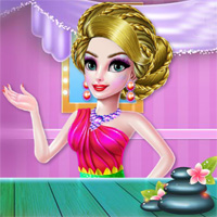 Free online flash games - Crazy Mommy Beauty Salon Glulo game - Games2Dress