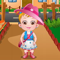 Free online flash games -  Baby Hazel Harvest Festival game - Games2Dress