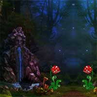 Free online flash games - Games4King Warlock Forest Escape game - Games2Dress