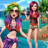 Free online flash games - Spring Break Selfie PlayRosy game - Games2Dress