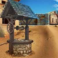 Free online flash games - 5NGames Can You Escape Desert House game - Games2Dress