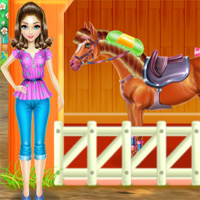 Free online flash games - Horse Care And Riding GamesForGirlz game - Games2Dress