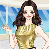 Free online flash games - Winter Prom Dresses Anime game - Games2Dress