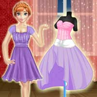 Free online flash games - Annie Dress Design PlayDora game - Games2Dress