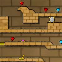 Free online flash games - Fireboy And Watergirl  2 game - Games2Dress