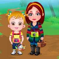 Free online flash games - Baby Hazel Nature Explorer game - Games2Dress