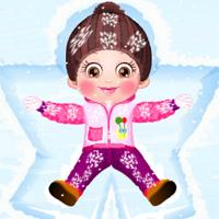 Free online flash games - Baby Hazel Skin Care game - Games2Dress