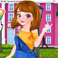 Free online flash games - Ellie Artist Makeover game - Games2Dress