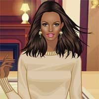 Free online flash games - Fur Queen game - Games2Dress