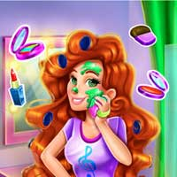 Free online flash games - Jessie Rockstar Real Makeover game - Games2Dress