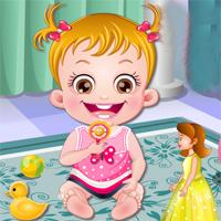 Free online flash games - Baby Hazel Fun Time game - Games2Dress