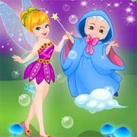 Free online flash games - Precious Fairy Doctor GirlGames4u game - Games2Dress