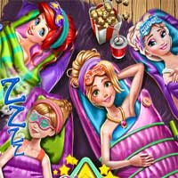 Free online flash games - Disney Girls Sleepover game - Games2Dress
