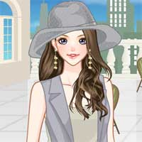 Free online flash games - Amazing Gray Anime game - Games2Dress